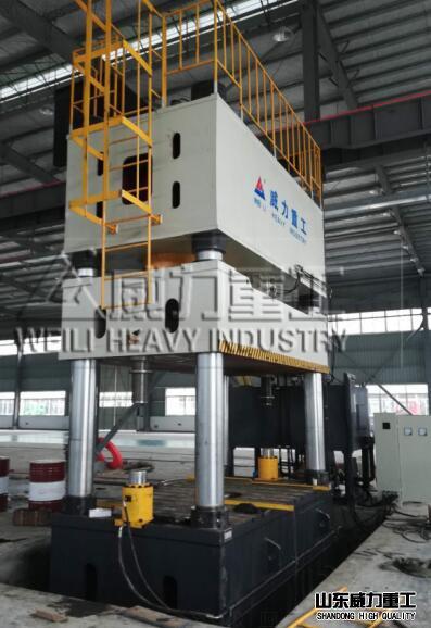 2000吨模压成型四柱压力机